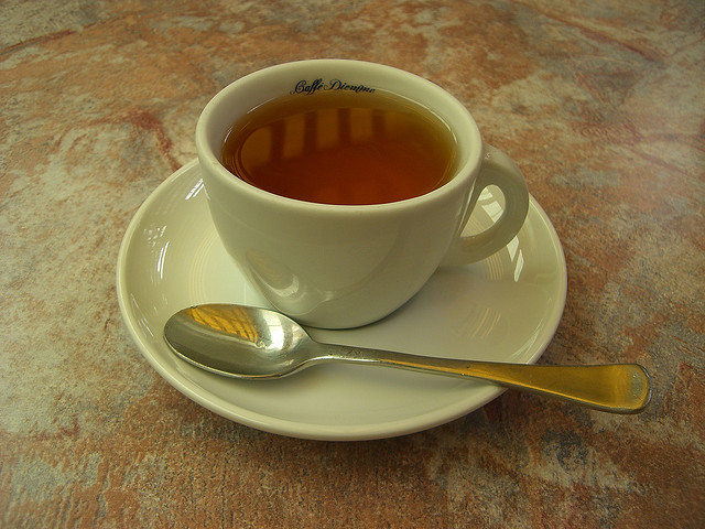 a cup of darjeeling tea
